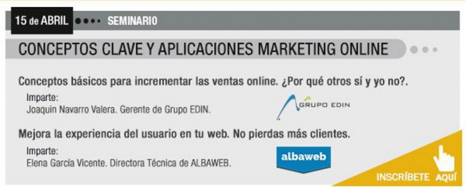Seminario: Conceptos clave y aplicaciones de marketing online