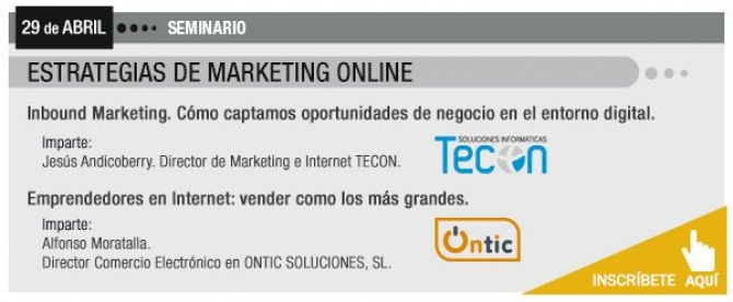 Seminario: Estrategias de marketing online