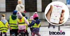Caminar al colegio es más fácil y seguro gracias a Traceus-Pedibús
