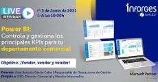 """Webinar """"Power BI: Controla y gestiona los principales KPIs para tu departamento comercial"""""""